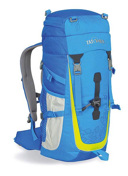 Детский спортивный рюкзак Tatonka Baloo, цвет: голубой, салатовый, 22 л. 1807.1941807.194Настоящий треккинговый рюкзак для детей старше 10 лет. По оснащению Baloo ни в чем не уступает взрослым треккинговым рюкзакам. Система подвески и спинка с мягкой подкладкой специально разработаны с учетом детской анатомии.Особенности:Подвеска: Padded BackМатериал: Textreme 6.6; Cross Nylon 420HD; AirMeshМягкие лямкиБоковые стяжкиПетля для крепления палокНагрудный и поясной ремниБоковые карманыСветоотражающие вставки