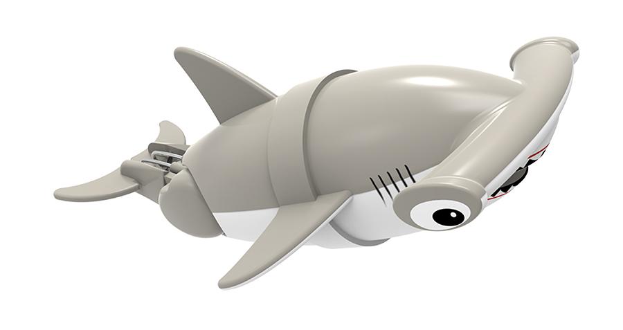 """Игрушка для ванны Renwood """"Акула-акробат"""" понравится вашему малышу и превратит купание в веселую игру. Она выполнена из безопасного пластика с элементами металла в виде маленькой красочной акулы. Рыбка-акробат умеет плавать и нырять. Траектория движения акулы зависит от наклона хвоста. Порадуйте вашего ребенка таким замечательным подарком! Игрушка работает от 2 батарей напряжением 1,5V типа ААА (не входят в комплект)."""