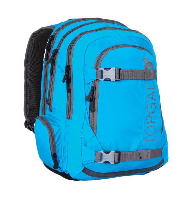 Рюкзак детский TOPGAL HIT-812 / D72523WDСтуденческий рюкзак эргономичной формы с анатомической спинкой и тремя основными отделениями. Задняя часть армирована легкой алюминиевой рамкой. Широкие и мягкие плечевые ремни легко регулируются. Нагрудный ремень для фиксации рюкзака. В заднее отделение