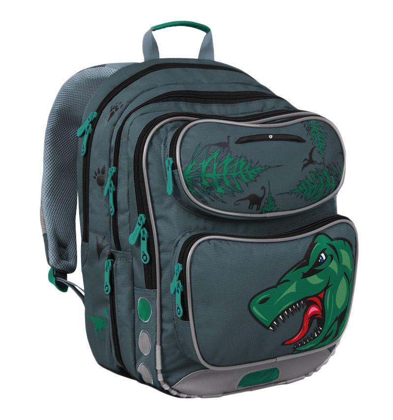Рюкзак детский TOPGAL CHI-183 / C72523WDШкольный рюкзак с анатомической спинкой, которая не позволяет перегружать позвоночник ребенка. В комплект входит мешок для обуви и защитный чехол.