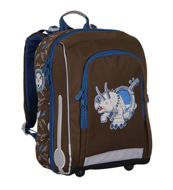 Рюкзак детский TOPGAL CHI-650 / K17898Школьный рюкзак с анатомической спинкой, которая не позволяет перегружать позвоночник ребенка. В комплект входит мешок для обуви и защитный чехол.