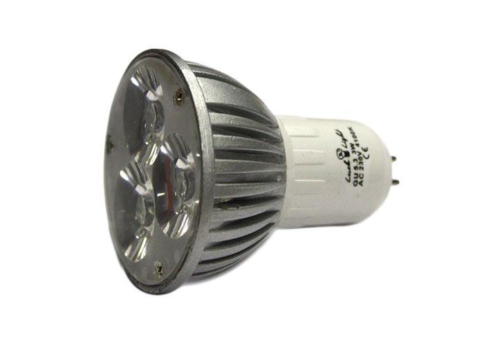 Светодиодная лампа Luck & Light, теплый свет, цоколь GU5,3, 3WC0027358Светодиодная лампа Luck & Light инновационный и экологичный продукт, специально разработанный для эффективной замены любых видов галогенных или обыкновенных ламп накаливания во всех типах осветительных приборов. Характеристики: Материал: стекло, металл. Напряжение: 220 В. Размеры лампы: 6 см х 5 см х 5 см. Размеры упаковки: 5,5 х 6,5 х 5,5 см.