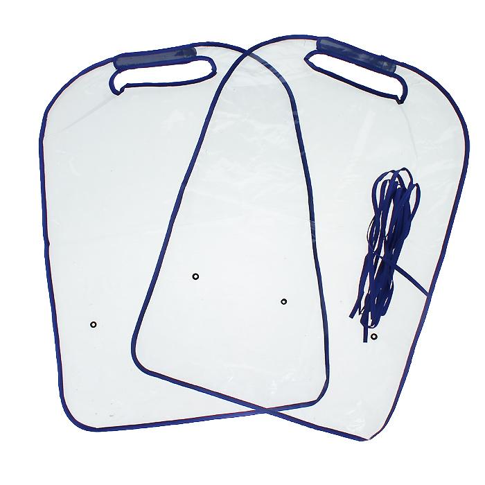 Защита для автомобильного кресла Bradex Авто-кроха, 2 шт98298130Во время поездки в автомобиле дети иногда могут пачкать грязью, остающейся на ботинках, заднюю сторону кресел. Авто-Кроха - это приспособление, которое необходимо укрепить при помощи застежек под подголовником и спинкой кресла, что поможет содержать автомобильные сиденья в чистоте. Наличие двух защитных полотен в одном комплекте позволит защитить оба автомобильных кресла. Авто-Кроха не портит внешний вид салона и легко моется.