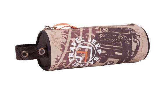 Пенал - тубус вмещает большое количество письменных принадлежностей, послужит хорошим дополнением к рюкзаку