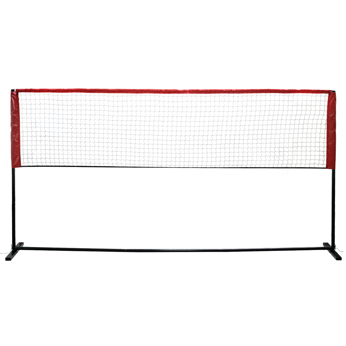 Мини-набор для бадминтона Fan Chiou, цвет: черный, 3 м х 1,55 м159597Любительский набор для игры в бадминтон или теннис. Стойки легко собираются и регулируются в зависимости от того играете вы в бадминтон или теннис. Размер сетки 3 м х 0,8 м. Набор упакован в компактный чехол.
