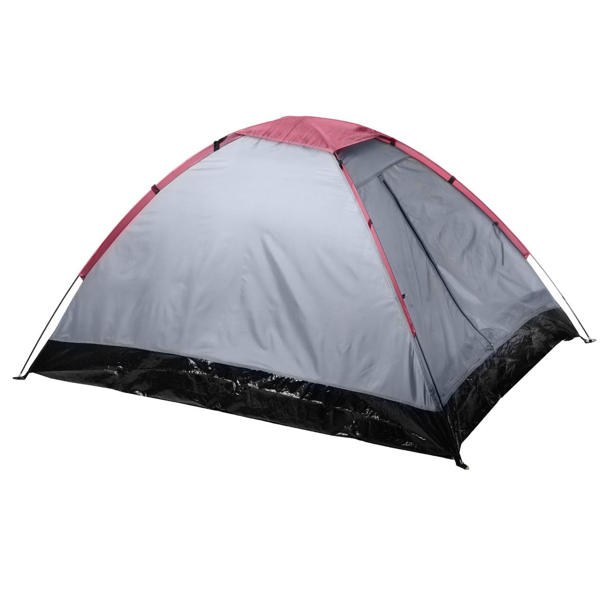 Палатка двухместная однослойная RekingKOCAc6009LEDУниверсальная палатка для Reking туристических походов. Имеет минимальный вес среди всех туристических палаток с фибергласовыми дугами, при этом обеспечивая оптимальное пространство пользователям.Материал тента: полиэстер 190 PU;Материал дна: PEМатериал дуг: фиберглас 6,9 мм.