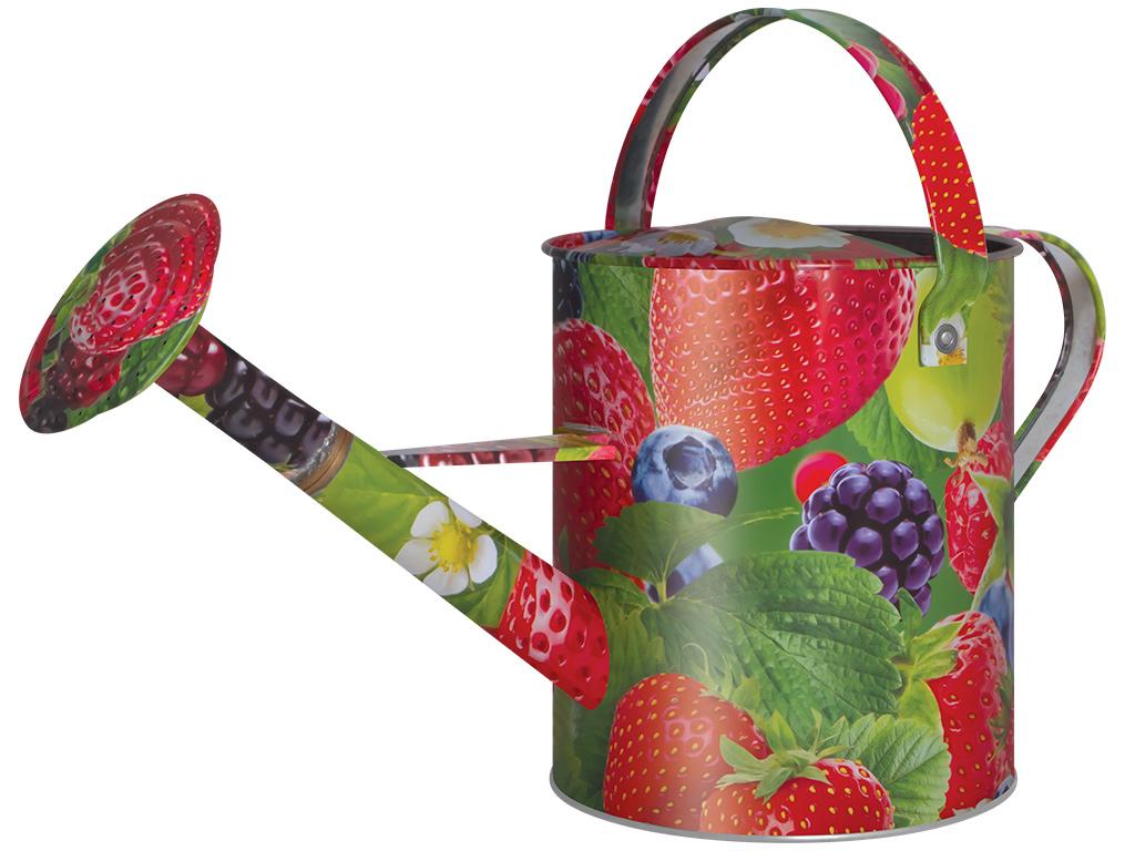 Лейка садовая Ягоды, цвет: красный, зеленый, 5 л. 1038-5-111038-5-11