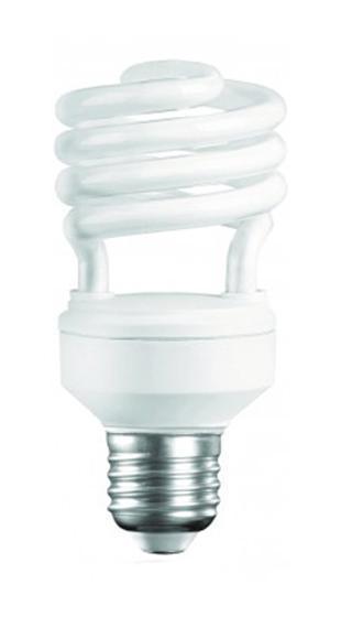 Camelion CF15-AS-T2/842/E27 энергосберегающая лампа, 15Вт13-A60/845/E27Энергосберегающая лампа 15Вт Camelion CF15-AS-T2/842/E27, 10616 имеет стандартный размер цоколя и полностью взаимозаменяема с обычными лампами накаливания, при этом потребление электроэнергии уменьшится до 5 раз. Лампа светит ровно и не мерцает даже при перепадах температуры. Содержит низкое количество ртути и не выделяет при работе вредных веществ.