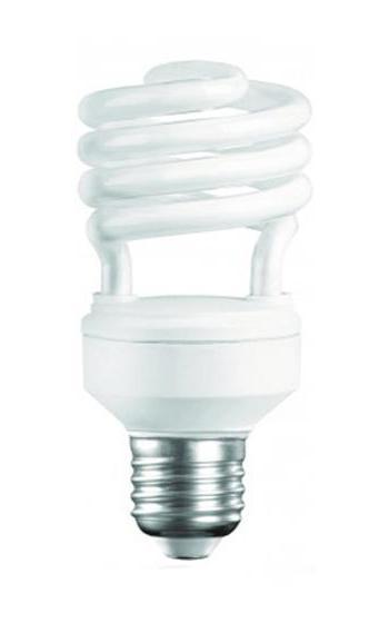 Camelion CF20-AS-T2/827/E27 энергосберегающая лампа, 20ВтC0042411Энергосберегающая лампа 20Вт Camelion CF20-AS-T2/827/E27, 10621 стабильно работает в широком диапазоне температур -250 С до +400 С. Горит ровным светом и не мерцает. Значительно сэкономит электроэнергию в помещениях, где требуется постоянное освещение. Имеет стандартный размер цоколя, что позволяет использовать лампу во всех осветительных приборах (люстры, торшеры, бра).