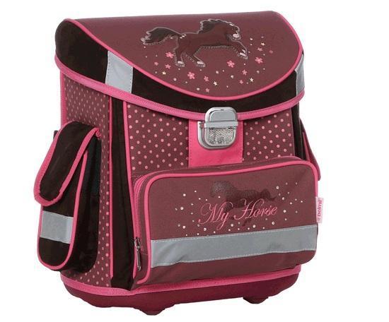 Рюкзак детский Belmil My Horse, цвет: коричневый, розовый404-4 MY