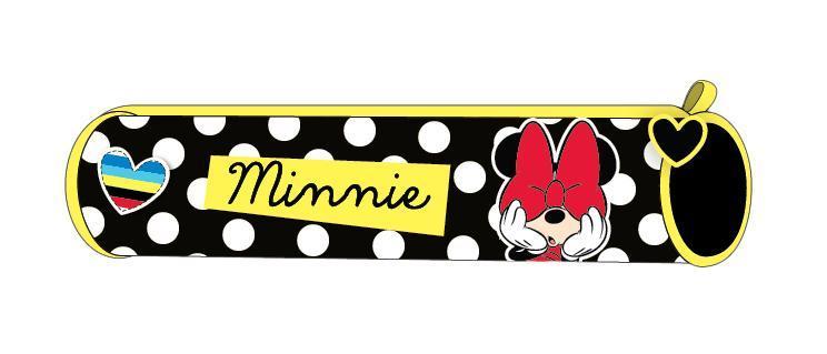 """Пенал-тубус """"Минни: Pop art"""" предназначен для хранения ручек, линеек, карандашей и прочих канцелярских принадлежностей. Он выполнен из плотного полиэстера ярких цветов и оформлен изображением забавной мышки Минни. Пенал состоит из одного вместительного отделения, закрывающегося на застежку-молнию. Бегунок на застежке дополнен удобным держателем в виде сердечка. Пенал-тубус """"Минни: Pop art"""" станет для вашего ребенка лучшим помощником в получении знаний и скрасит долгие часы школьных занятий."""