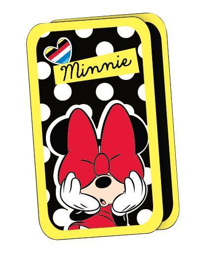 """Яркий пенал Minnie Mouse """"Pop Art"""" предназначен для хранения и переноски ручек, линеек, карандашей и прочих канцелярских принадлежностей. Он выполнен из твердого плотного ламинированного картона с эффектом конгрева (с выпуклыми картинками) и полиэстера и оформлен изображением очаровательной мышки Минни. Пенал содержит два отделения с фиксаторами для канцелярских принадлежностей, которые закрываются на застежки-молнии. Пенал Minnie Mouse """"Pop Art"""" станет для вашего ребенка лучшим помощником в получении знаний и скрасит долгие часы школьных занятий."""