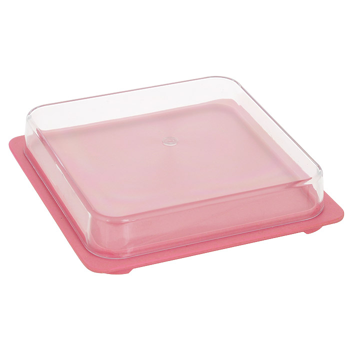 Контейнер для сыра Frybest Bamboo, цвет: розовый. BM-02-2115510Контейнер для сыра Frybest Bamboo предназначен для красивой сервировки и хранения сыра. Контейнер состоит из подноса розового цвета и крышки. Благодаря специальным выемкам крышка плотно устанавливается на поднос. Поднос изготовлен из бамбукового волокна - экологически чистого материала, который не содержит примесей и токсинов, что важно для здоровья человека. Кроме того, это биоразлагаемый материал, который не вредит окружающей среде. Крышка выполнена из прозрачного пластика.Сыр в таком контейнере долго остается свежим, а при хранении в холодильнике не впитывает посторонние запахи. Прекрасный дизайн изделия идеально подойдет для сервировки стола. Можно использовать при температуре от -20°С до +70°С. Максимальное использование при температуре +70°С не более двух часов. Не использовать в микроволновой печи.
