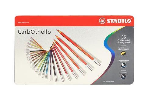 Набор цветных карандашей Stabilo CarbOthello, 36 цветов1436-6Цветная пастель в виде деревянного карандаша. Деревянная оболочка карандаша защищает хрупкую сердцевину - пастельный мелок, способный передать бесподобную свежесть и выразительность красок. Мягкий грифель позволяет рисовать даже на очень тонкой бумаге. Можно использовать как акварельные карандаши. Цветная пастель идеально подходит для смешивания цветов. Исключительная насыщенность цвета позволяет добиться великолепных результатов даже на темном фоне. Набор в металлической коробке.