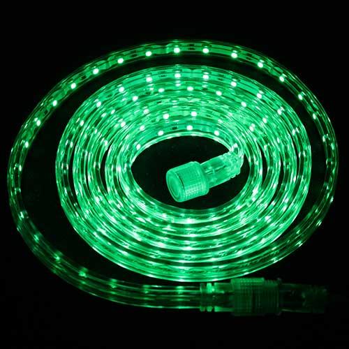 Светодиодная лента Luck&Light, 5 метров, цвет: зеленыйL&L-60G5M