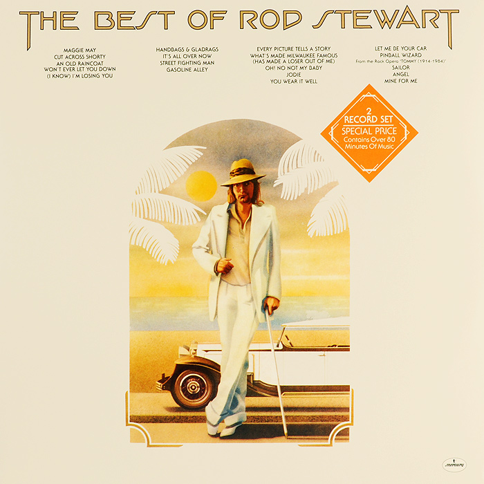 Род Стюарт Rod Stewart. The Best Of Rod Stewart (2 LP) rod stewart rod stewart every picture tells a story 180 gr