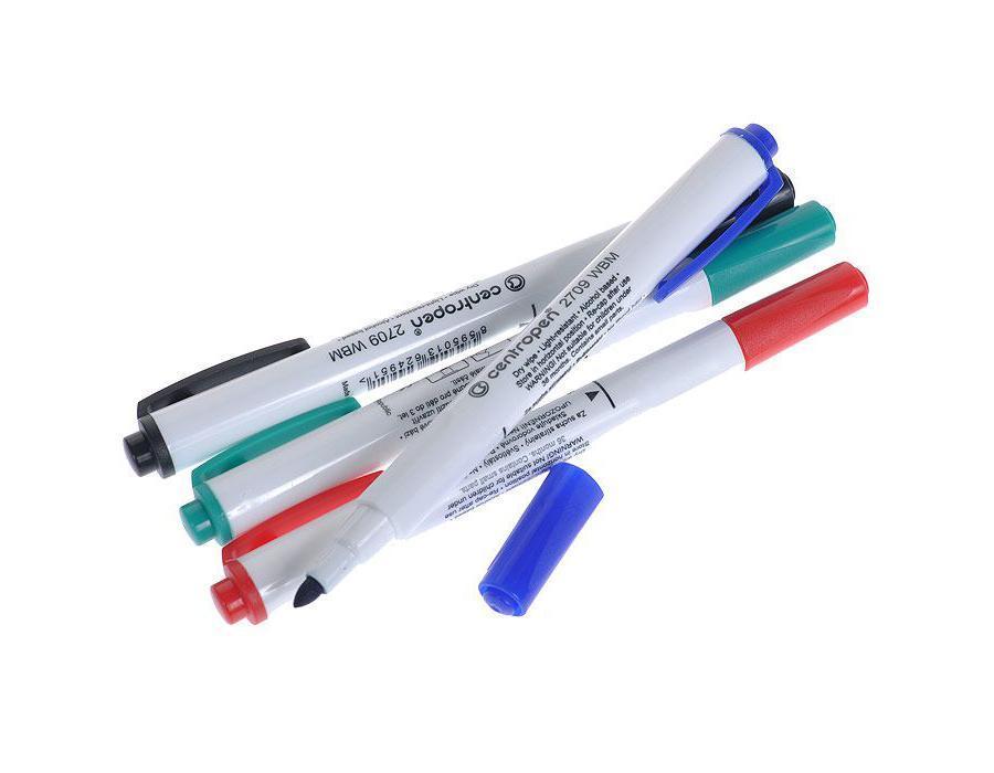 Набор маркеров Centropen, 4 шт. 09-098009-0980