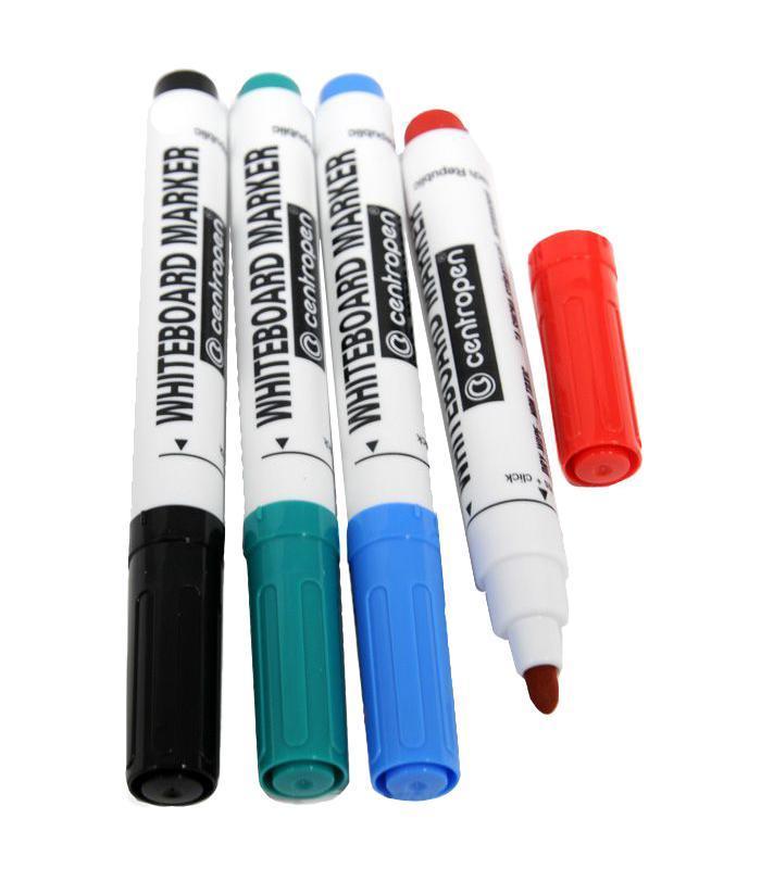 Набор маркеров Centropen для доски, 4 цвета8559/4PVC