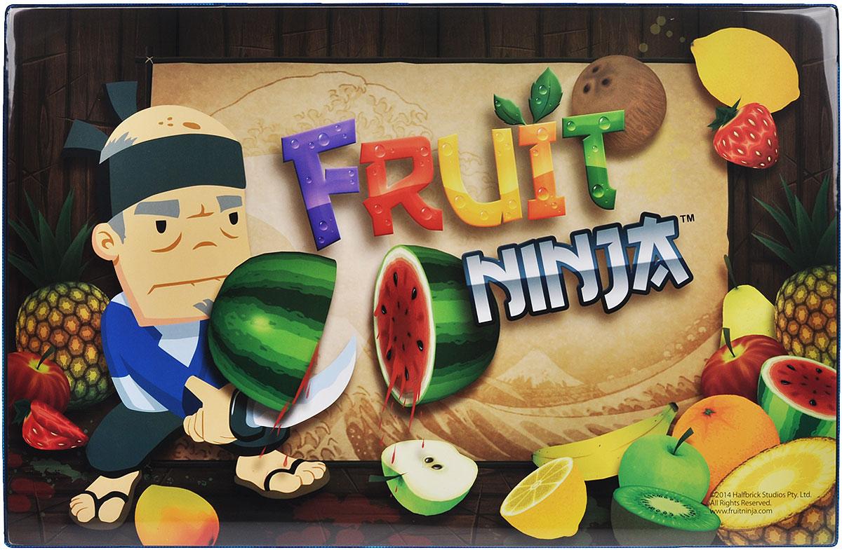 """Накладка на стол Action! """"Fruit Ninja"""" представляет собой прямоугольное настольное покрытие формата А3 с закругленными уголками, выполненное из плотного ПВХ и оформленное изображением Фруктового Ниндзя. Такая накладка послужит не только украшением стола, но и защитит его от различных загрязнений при детском творчестве. Яркий рисунок обязательно понравится вашему ребенку."""