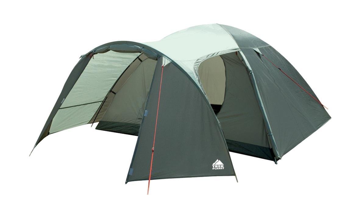 Палатка четырехместная TREK PLANET Cuzco 4, цвет: оливковый70183Четырехместная палатка Trek Planet Cuzco 4 с хорошей вентиляцией и большим тамбуром, подходит для длительного путешествия.Особенности модели:Простая и быстрая установка.Тент палатки из полиэстера, с пропиткой PU водостойкостью 3000 мм, надежно защищает от дождя, все швы проклеены.Дно палатки из прочного полиэстера Oxford водостойкостью 6000 мм.Каркас из жестких, прочных и легких композитных дуг (Durapol).Просторный тамбур с двумя входами.Боковая дверь тамбура закрывается молнией, спрятанной под внешним тентом, что препятствует попаданию влаги через молнию во время дождя.Внутренняя палатка из дышащего полиэстера, обеспечивает вентиляцию помещения и позволяет конденсату испаряться, не проникая внутрь палатки.Вентиляционное окно.Удобная D-образная дверь с москитной сеткой в полный размер на входе во внутреннюю палатку.Внутренние карманы для мелочей.Возможность подвески фонаря в палатке.Для удобства транспортировки и хранения предусмотрен современный компрессионный чехол с ручкой.Trek Planet - проверенный туристический бренд по производству товаров для туристов, охотников и рыболовов: палатки для активного отдыха, спальники, рюкзаки, туристические коврики и аксессуары. Trek Planet использует лучшие износостойкие материалы и последние технологические разработки.Размер: 240 см х (210+130) см х 130 см.Размер внутренней палатки: 240 см х 210 см х 130см.Размер палатки (в собранном виде): 19,5 см х 62 см.