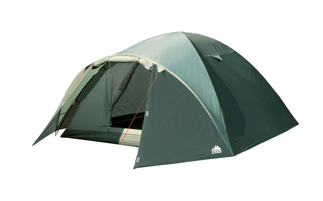 Палатка четырехместная TREK PLANET Arisona 4, цвет: оливковый