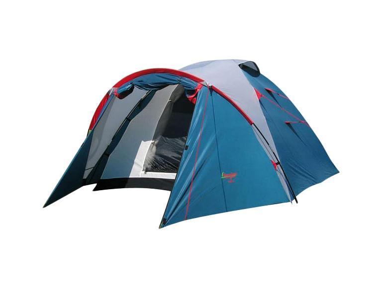 Палатка CANADIAN CAMPER KARIBU 4 (цвет royal)30400015Canadian Camper Karibu 4 - это классика туристических палаток. Благодаря новой конструкции и третьей дуге у палатки увеличился размер тамбура, а два входа и достаточно большие отверстия для вентиляции обеспечат комфорт даже при высоких температурах. Установленные противомоскитные сетки прекрасно защитят Вас от различных насекомых. В палаткес комфортом могут разместиться 4-5 человек.