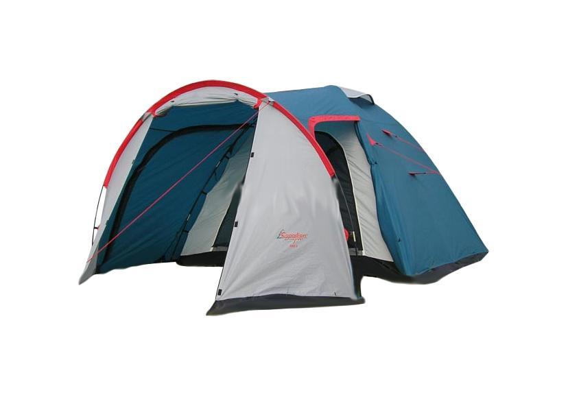 Палатка CANADIAN CAMPER RINO 3 (цвет royal)30300021Туристическая палатка Canadian Camper Rino 3 состоит из двух частей - внешнего тента и внутренней палатки. Из-за своей вместительности при внешней компактности и отличной водостойкости эта палатка пользуется стабильной популярностью у сторонников отдыха на природе.Каркас из стекловолокна располагается снаружи внешнего тента. У палаткидва входа, которые ведут во вместительный тамбур. Шторы над входами закрепляются на фибергласовых стойках и превращаются в козырек. Входы и огромные окна палатки надежно защищены антимоскитными сетками. Палатка очень проста в установке.