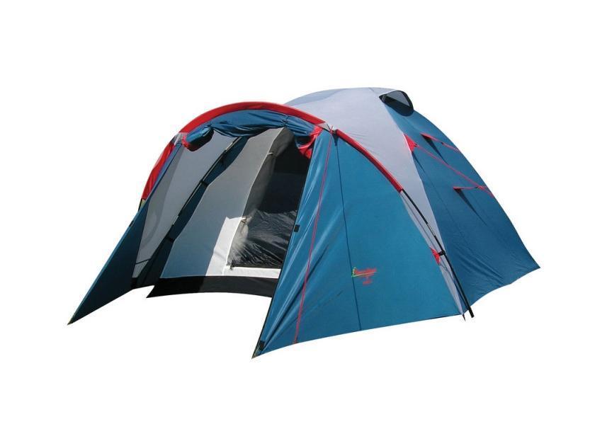 Палатка CANADIAN CAMPER KARIBU 2 (цвет royal)30200012KARIBU - классика туристических палаток. Благодаря третьей дуге палатка имеет увеличенный тамбур. Два входа и большие вентиляционные отверстия обеспечат комфорт даже в летний зной, а противомоскитные сетки защитят вас от назойливых насекомых.Палатка Karibu 4 имеет увеличенные размеры внутренней палатки, что позволяет с комфортом разместиться в ней трем взрослым и одному ребенку.