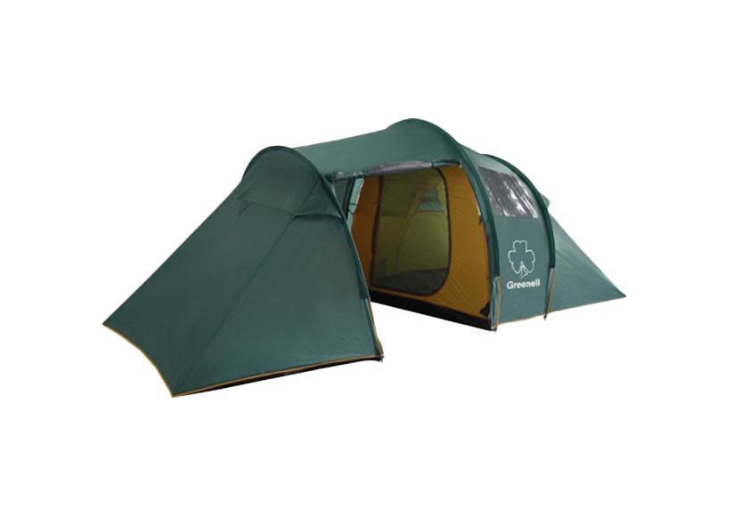 Палатка Greenell Арди 4/5 Green2742Большая кемпинговая палатка Greenell Арди 4/5 конструкции полубочка. Прозрачные окна. Антикомариная система (юбка и сетка в тамбуре). Различные варианты конфигурации (2+2+3). Два входа, две комнаты, большой тамбур. Проточная вентиляция. Возможна установка тента без внутренних палаток. Особенности конструкции:Карманы Прозрачные окна Проклеенные швы Ветрозащитная юбка Противомоскитная сетка Характеристики: Вместимость: 4-5 человек. Размер палатки в разложенном виде (ДхШхВ): 490 см х 220 см х 190 см. Наружный тент: Poly Taffeta 190T PU 3000 мм. Каркас:дуги из фибергласса диаметром 9,5 мм. Вес:11530 г. Размер в сложенном виде: 70 см х 25 см х 25 см. Изготовитель:Китай. Артикул: 25593-303-00.