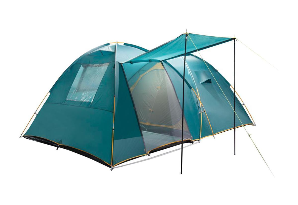 Палатка Greenell Трим 4 Green25523-303-00Большую кемпинговую палатку Greenell Трим 4 можно использовать без растяжек. Имеет два входа и один большой тамбур.Особенности конструкции:Проклеенные швы тентаПротивомоскитная сеткаКарманыВетрозащитная юбкаПрозрачные окна Характеристики: Вместимость: 4 человека. Размер палатки в разложенном виде (ДхШхВ): 420 см х 290 см х 170 см. Наружный тент: Poly Taffeta 190T PU 3000 мм. Материал дна: Tarpauling. Материал палатки: Polyester 190T дышащий. Каркас:дуги из фибергласса диаметром 11 мм, 16 мм. Вес:12300 г. Размер в сложенном виде: 68 см х 47 см х 23 см. Изготовитель:Китай. Артикул: 25523-303-00.