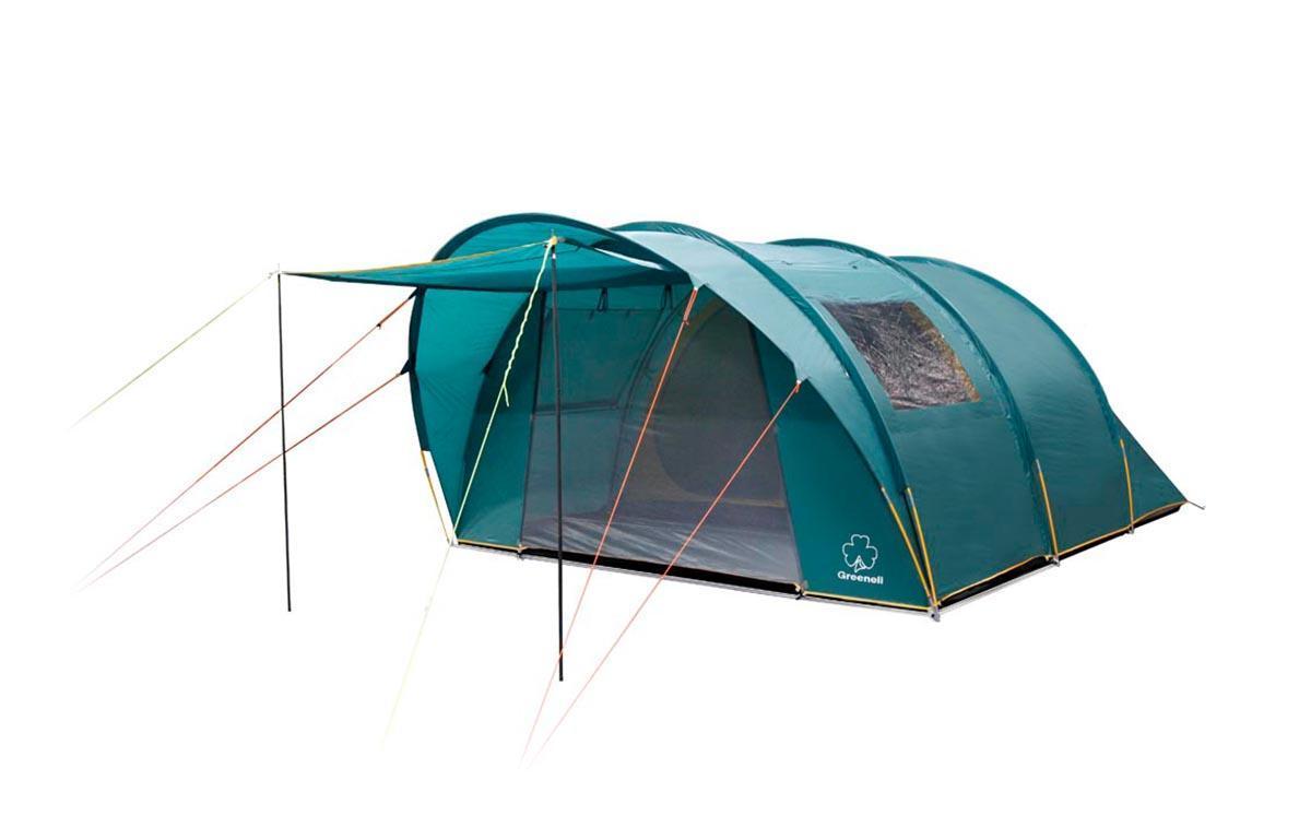 Палатка Greenell Килкенни 5V2 GreenУТ-000051311Большая кемпинговая палатка с большими окнами. Одно спальное отделение. Очень просторный тамбур. Огромные окна со шторками. Возможна отдельная установка тента. Дополнительные преимущества:Проклеенные швы;Ветрозащитная юбка;Противомоскитная сетка;Петли для фонаря;Карманы;Прозрачные окна. Характеристики: Вместимость: 5 человек. Размер палатки в разложенном виде (ДхШхВ): 520 см х 355 см х 200 см. Наружный тент: полиэстер Taffeta 190T, PU 3000 мм. Внутренняя палатка: полиэстер Taffeta 190T дышащий. Дно: Tarpauling, PU 10000 мм. Дуги:Fiberglass 11 мм. Стойки:Сталь 16мм. Вес:14800 г. Размер в сложенном виде: 75 см х 30 см х 30 см.