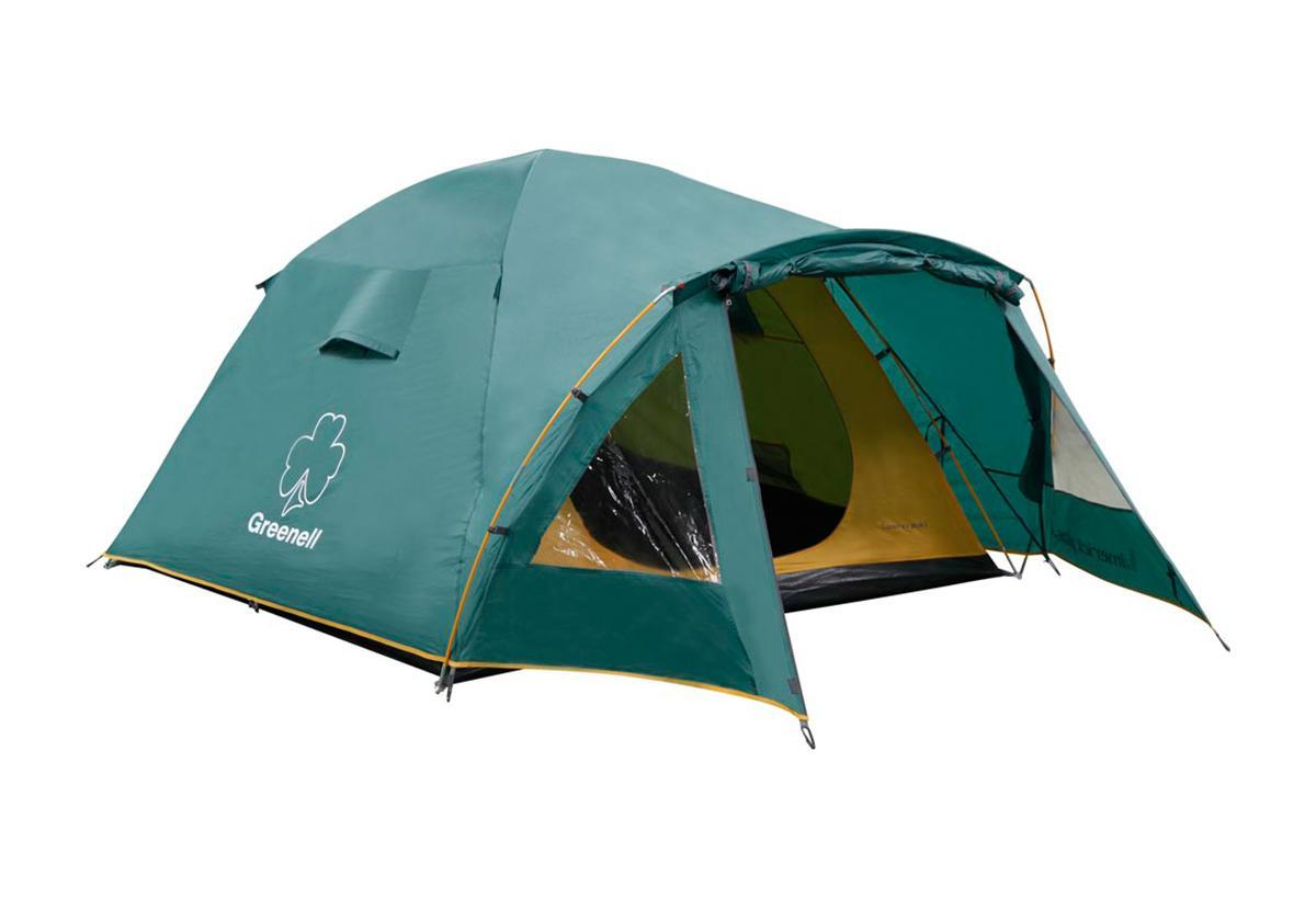 Палатка Greenell Лимерик плюс 3 Green67742Палатка Greenell Лимерик плюс 3 обеспечивает большой комфорт при минимальном весе. Имеет два входа и два тамбура. Вентиляционные окна с сеткой и клапаном на молнии. Можно устанавливать без тента. Повышенный комфорт засчет заданного угла дуг. Характеристики: Вместимость: 3 человека. Размер палатки в разложенном виде (ДхШхВ): 365 см х 215 см х 135 см. Наружный тент: Poly Taffeta 190T PU 3000 мм. Материал дна: Tarpauling. Материал палатки: Polyester 190T дышащий. Каркас:дуги из фибергласса диаметром 8,5 мм. Вес:5200 г. Размер в сложенном виде: 78 см х 18 см х 18 см. Изготовитель:Китай. Артикул: 25443-303-00.