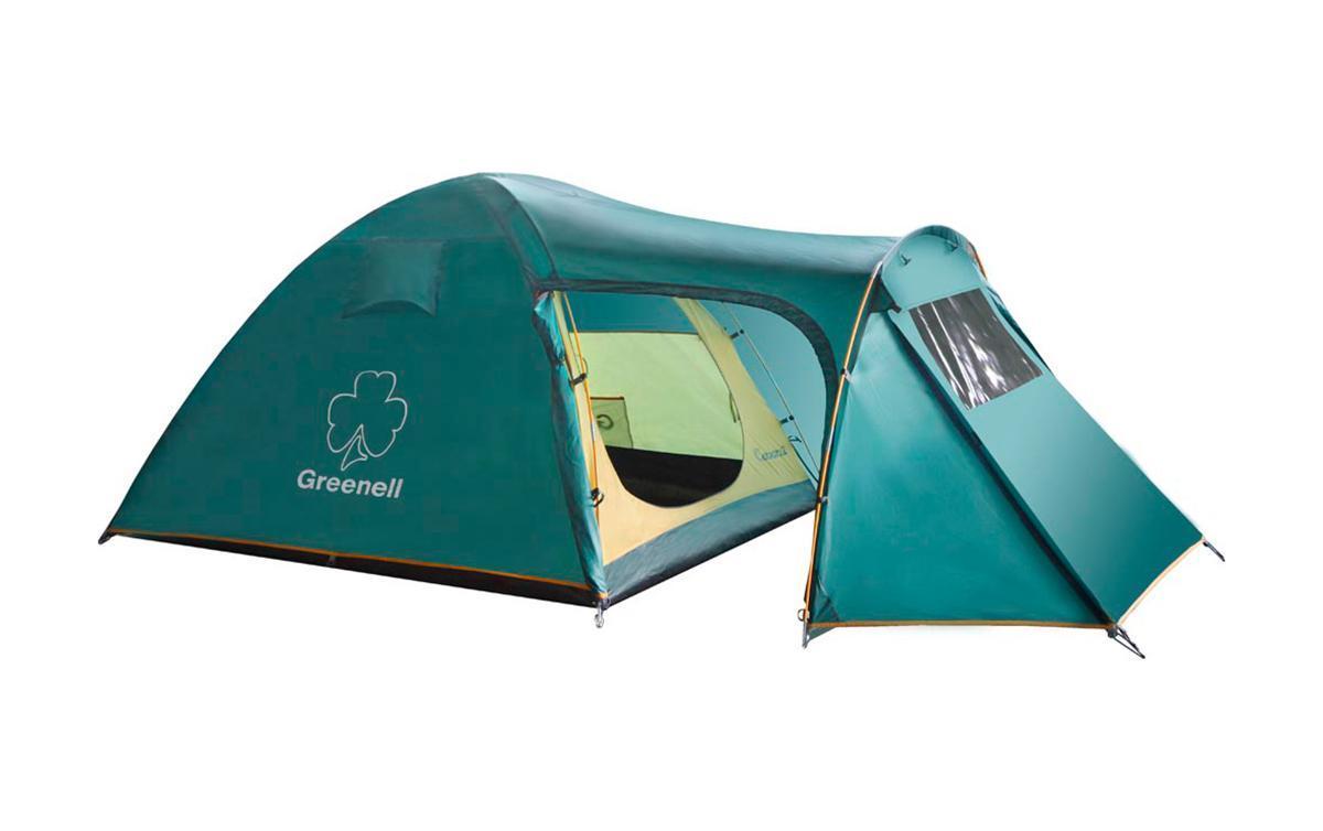 Палатка Greenell Каван 3 Green палатки greenell палатка керри 2 v3