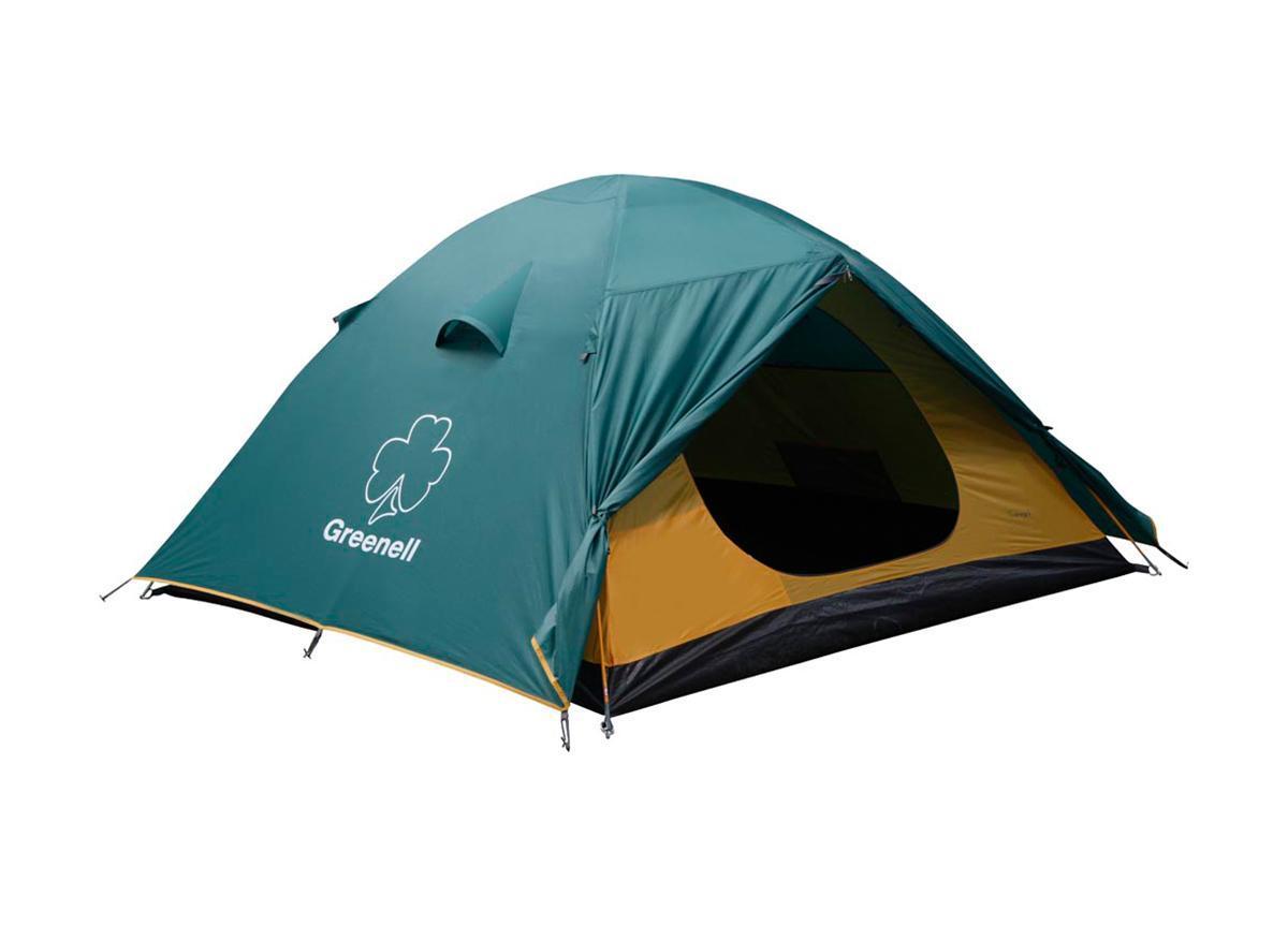 Палатка Greenell Гори 2 Green67742Greenell Гори 2 - это универсальная двухместная палатка путешествий. Мобильно, комфортно, удобно! Имеет два входа и два тамбура. Проточная вентиляция. Особенности конструкции:Проклеенные швы Противомоскитная сетка Подвесная полка Характеристики: Вместимость: 2 человека. Размер палатки в разложенном виде (ДхШхВ): 305 см х 215 см х 115 см. Наружный тент: полиэстер Taffeta 190T, PU 3000 мм. Внутренняя палатка: полиэстер Taffeta 190T дышащий. Дно: Tarpauling. Каркас:дуги из фибергласса диаметром 7,9 мм. Вес:3660 г. Размер в сложенном виде: 63 см х 14 см х 17 см. Изготовитель:Китай. Артикул: 25383-303-00.