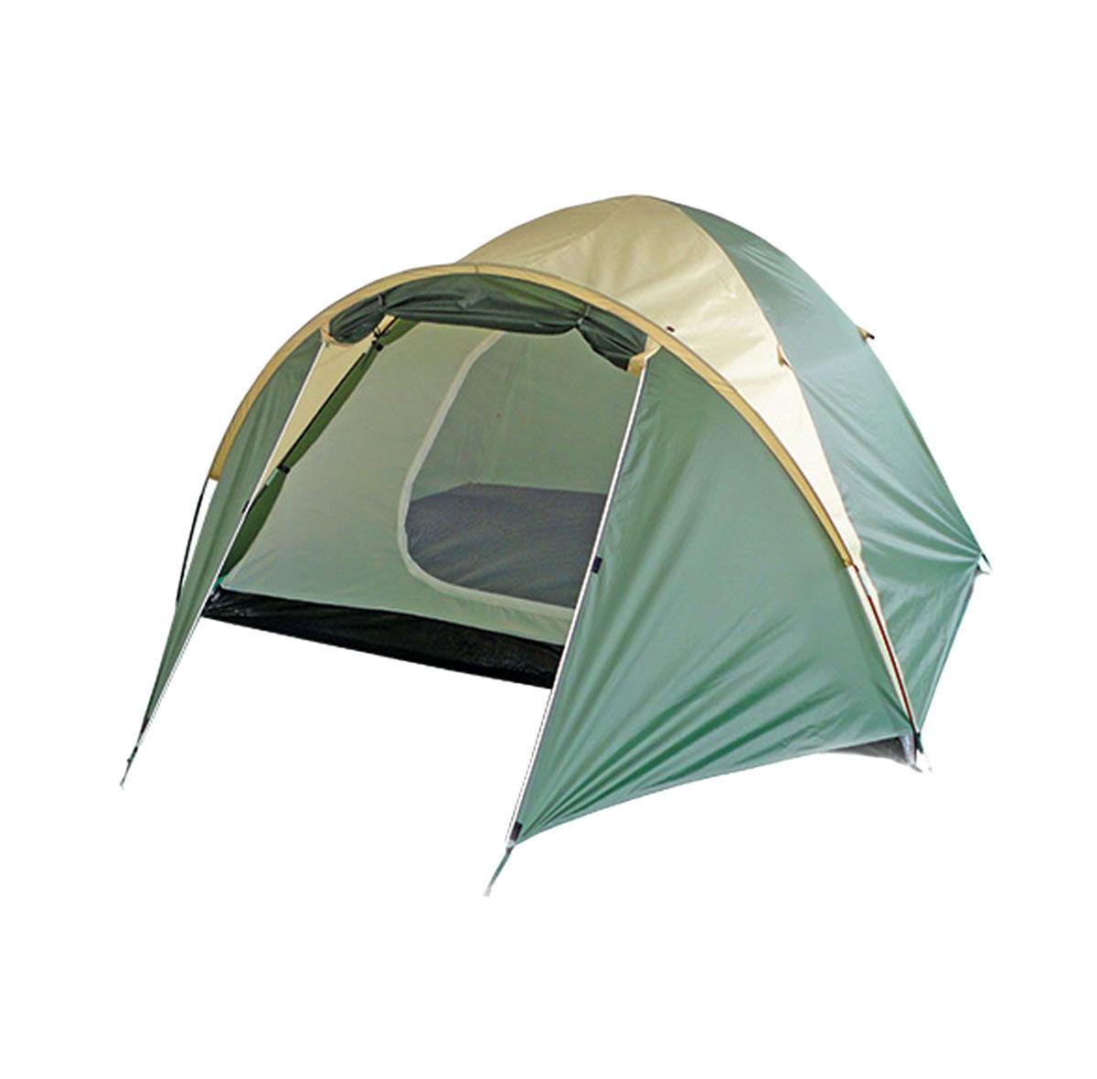 Палатка Happy Camper PL-025-4P25383-303-00Эта палатка сочетает в себе качества простой кемпинговой палатки, в которой можно разместиться всей семьей, и собирается так же легко, как треккинговые. В ней имеется тамбур для хранения вещей. Внутренняя дверь продублирована противомоскитной сеткой, а благодаря внутренним карманам все необходимые вещи всегда будут под рукой.Особенности:Проклеенные швы;Внутренний тент может устанавливаться отдельно;Два окна из дышащего полиэстера. Характеристики: Размер палатки в разложенном виде (ДхШхВ): 350 см х 210 см х 140 см. Наружный тент:190T полиэстер с полиуретановым покрытием. Внутренняя палатка: дышащий полиэстер. Дно: 110G полиэтилен. Каркас:дуги из фибергласа диаметром 8,5 мм. Вес:3500 г. Размер в сложенном виде: 61 см х 13 см х 13 см.