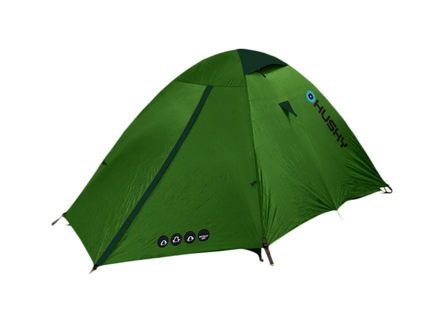 Палатка Husky Bret 2 Light Green, цвет: светло-зеленый67742Палатка Bret 2 является летним вариантом для отдыха. Представляет собой двухслойную однокомнатную палатку с двумя входами и одним тамбуром с внутренним расположением дуг. Внутренняя палатка оснащена противомоскитной сеткой. Вы несомненно оцените скорость, с которойможет быть установлена эта палатка, и ее маленький транспортный объем. Идеальна для велотуризма, альпинизма, сложных походов в летнее время.Аксессуары: дюралюминиевые колышки, набор для ремонта, компрессиный чехо, карман-сетка. Характеристики: Вместимость: 2 человека. Размер палатки в разложенном виде (ДхШхВ): 290 см х 145 см х 120 см. Размер спального места: 210 см х 145 см. Наружный тент: полиэстер RipStop 210Т с PU-покрытием, 5.000 мм/см2. Внутренняя палатка: водоотталкивающий нейлон 190Т. Дно: полиэстер 190Т с PU-покрытием, 8.000 мм/см2. Каркас:дуги из дюралюминиевого сплава диаметром 8,5 мм. Вес:2700 г. Размер в сложенном виде: 53 см х 20 см х 18 см. Изготовитель:Китай. Артикул: BRET2green.