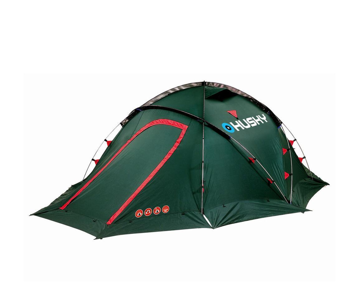 Палатка Husky Fighter 3-4 Green67742Экстремальная палатка Fighter 3-4 с двумя входами и тамбурами с наружным расположением дуг.Палатка защитит вас в любом месте и в любое время. Непромокаемые тент и дно, ветрозащитная юбка и карман-сеткабудут незаменимы в экспедициях, длительных походах, при неблагоприятных погодных условиях.Внутренняя палатка оборудована противомоскитной сеткой. Прилагается ремнабор. Основные характеристики: Количество мест:3-4. Высота:120 см. Общая длина:400 см. Общая ширина:205 см. Спальная комната:220 см х 205 см. Количество входов:2. Материал тента:полиэстер RipStop 190T. Материал дна:полиэстер 190Т c PU-покрытием. Материал внутренней палатки:водоотталкивающий нейлон 190Т +противомоскитная сетка.