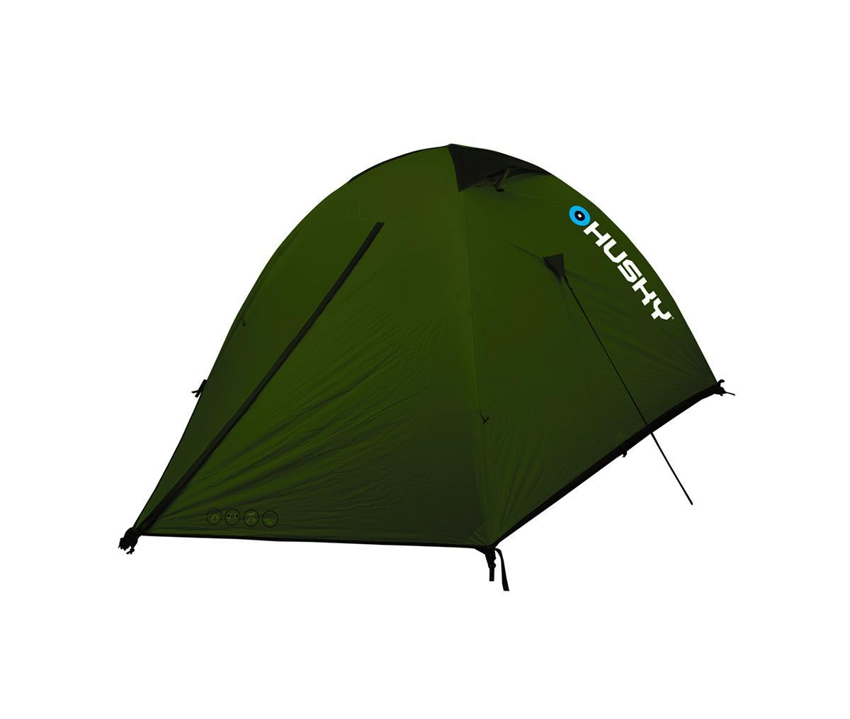 Палатка Husky Sawaj 3 Green, цвет: зеленыйУТ-000052272Двухслойная палатка Sawaj 3 отлично подойдет для путешествий и кемпинга. Палатка рассчитана на трех человек. В палатке имеются два входа и один тамбур. Пригодна для велосипедного туризма, скалолазания, пешего туризма.В комплекте дюралюминиевые колышки, набор для ремонта, компрессионный мешок, карман-сетка.Палатка упакована в чехол с удобной ручкой для переноски. Характеристики:Количество мест: 3. Размер палатки: 200 см х 130 см х 270 см.. Количество входов:2 шт. Материал внешнего тента:30D 280Т Polyester Ripstop с силиконовым покрытием 5000 мм/см2. Материал внутреннего тенда: воздухопроницаемый Nylon 210T, вставки из противомоскитной сетки. Дно: 190Т Polyester с полиуретановым покрытием 8000 мм/см2. Материал дуг:алюминий. Габариты палатки в упакованном виде:50 см х 18 см х 18 см. Вес: 2900 г. Цвет:зеленый. Производитель: Чехия. Изготовитель: Китай. Артикул:Sawaj 3.