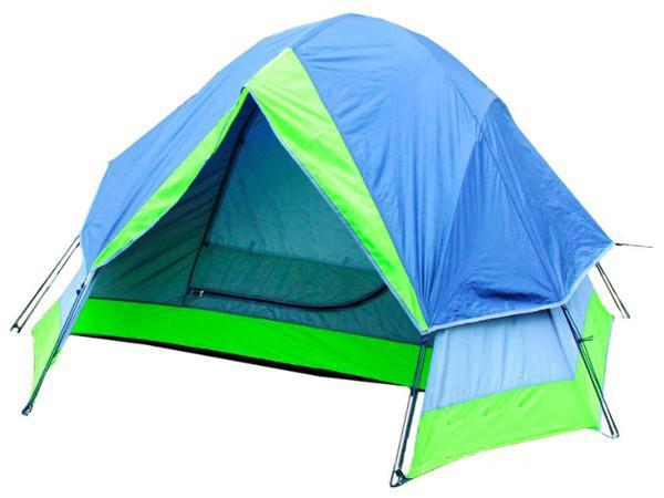 Палатка Reking TK-121 BlueTK-121Палатка двухместная Reking - классическая двухслойная палатка для несложных походов и отдыха на природе.Проклеенные швы гарантируют герметичность и надежность в любой ситуации.Материал тента: 190PU полиэстер;Материал дна: РЕ;Материал дуг: фибергласс, 7,9 мм, 8,5 мм.