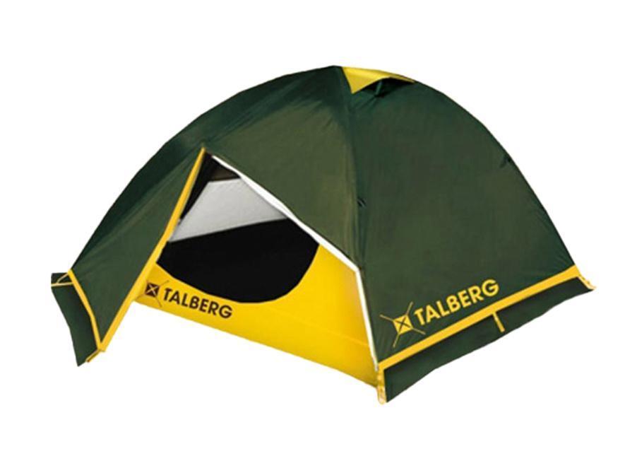 Палатка Talberg Boyard Pro 2, цвет: зеленый67742Легкая двухслойная палатка Talberg Boyard Pro 2 с двумя увеличенными тамбурами и юбкой от ветра и насекомых предназначена для пешего туризма и кемпинга.Внутренняя палатка выполнена из дышащего полиэстера, швы наружного тента проклеены.Вы несомненно оцените скорость, с которой может быть установлена эта палатка. Идеально подходит для двух туристов. Палатка упакована в сумку-чехол на застежке-молнии. Также прилагается инструкция по сборке палатки. В ремкомплект входят кусочки ткани, трубка для дуги и фастекс (защелка для чехла). Характеристики: Количество мест: 2. Размер палатки: 290 см х 230 см х 120 см. Спальная комната: 220 см х 150 см. Количество входов: 2. Дуги: Alu 7001 8,5 мм. Материал внешнего тента: Polyester RipStop 190T/75D 4000 мм. Материал внутреннего тента: полиэстер. Материал дна: Polyester 195T/85D 7000 мм. Размер палатки в собранном виде: 58 см х 17 см х 15 см. Вес: 2,4 кг. Изготовитель: Китай.