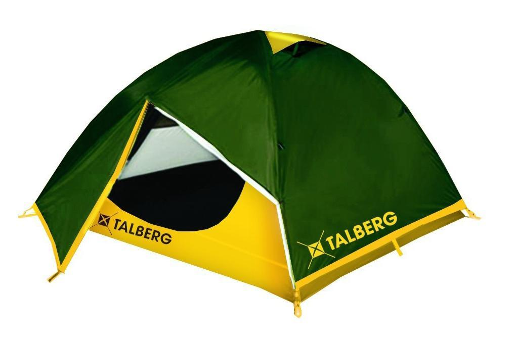 Палатка Talberg Boyard 3AS009Легкая двухслойная палатка Talberg Boyard 3 с двумя увеличенными тамбурами для вещей предназначена для пешего туризма и кемпинга.Внутренняя палатка выполнена из дышащего полиэстера, швы наружного тента проклеены.Вы несомненно оцените скорость, с которой может быть установлена эта палатка. Идеально подходит для трех туристов. Палатка упакована в сумку-чехол на застежке-молнии. Также прилагается инструкция по сборке палатки. Характеристики: Количество мест: 3. Размер палатки: 360 см х 230 см х 120 см. Спальная комната: 220 см х 180 см. Количество входов: 2. Дуги: HQ FiberGlass 8,5 мм. Материал внешнего тента: Polyester RipStop 190T/75D 4000 мм. Материал внутреннего тента: полиэстер. Материал дна: Polyester 195T/85D 7000 мм. Размер палатки в собранном виде: 58 см х 18 см х 18 см. Вес: 3,7 кг. Изготовитель: Китай.
