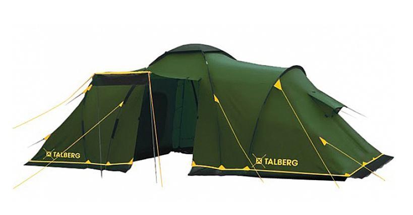 Палатка Talberg Base Super 9УТ-000046673Огромная кемпинговая палатка с тремя спальными отделениями, огромным тамбуром и юбкой от ветра и насекомых. На входной двери в тамбур располагается окно из антимоскитной сетки. В каждой спальной комнате на стенке напротив входа - карман 50х20 см.В каждой спальной комнате - вентиляционные окна..В каждой спальной комнате - вентиляционные окна.Основные особенности палаток кемпинговой серии:Удобная конструкцияШирокий ассортимент моделей позволит выбрать палатку даже для очень большой компанииЛогичная конструкция позволяет установить палатку даже новичку, не требуя никаких дополнительных знаний и навыковДуги HQ FiberGlass, не имеющие остаточных деформацийМелкая противомоскитная сетка, способная защитить не только от комаров, но и от мошекПроклеенные швыВсе палатки оборудованы ветрозащитной юбкойРемнабор в комплекте Характеристики: Размер палатки в разложенном виде (ДхШхВ): 580 см х 410 см х 200 см. Наружный тент: Polyester 190T/75D 5000 мм. Внутренняя палатка: дышащий полиэстер. Дно: армированный полиэтилен. Каркас:дуги из фибергласса диаметром 11 мм и 9,5 мм, из стали диаметром 16 мм. Вес:13,9 кг.