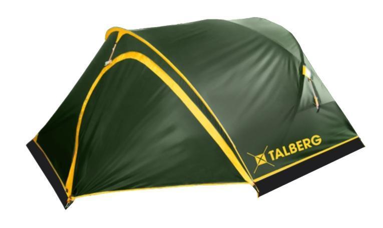 Палатка Talberg Sund Pro 2AS009Легкая двухслойная палатка Talberg Sund Pro 2 с большим и малым тамбурами и внутренним расположением дуг, идеальна для велосипедистов. У палатки два тамбура с разных сторон. В каждый из них по одному входу и из каждого - по одному входу в спальную комнату. Палатка оснащена юбкой, двери дублированы москитной сеткой.Внутренняя палатка выполнена из дышащего полиэстера, швы наружного тента проклеены.Вы несомненно оцените скорость, с которой может быть установлена эта палатка. Идеально подходит для двух туристов. Палатка упакована в сумку-чехол на застежке-молнии. Также прилагается инструкция по сборке палатки. Характеристики: Количество мест: 2. Размер палатки: 340 см х 230 см х 110 см.Спальная комната: 220 см х 140 см.Дуги: Alu 7001 8,5 мм. Материал внешнего тента: Polyester RipStop 190T/75D 4000 мм. Материал внутреннего тента: полиэстер.Материал дна: Polyester 195T/85D 7000 мм. Размер палатки в собранном виде: 60 см х 17 см х 12 см. Вес: 3,2 кг.Изготовитель: Китай.