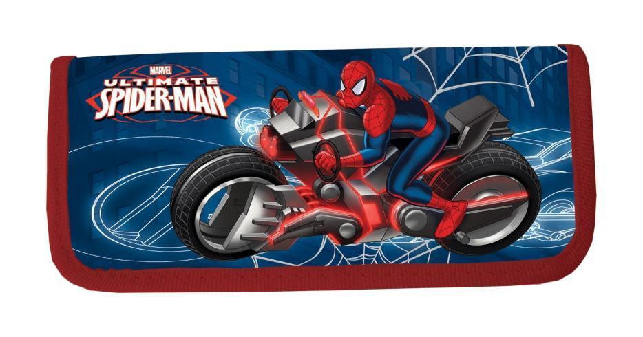 Пенал жесткий тканевый, с креплениями для канцелярских принадл, размер20х9х3 см, Spider-man730396Пенал жесткий тканевый, с креплениями для канцелярских принадл. Размер20 х 9 х 3 см, Spider-man Цвет: .Тип: Жесткий пенал.Пол: Для мальчиков .Возраст: Младшие классы .Форма: .Материал: Полиэстер, Картон.Размер: 200х90х30 мм.