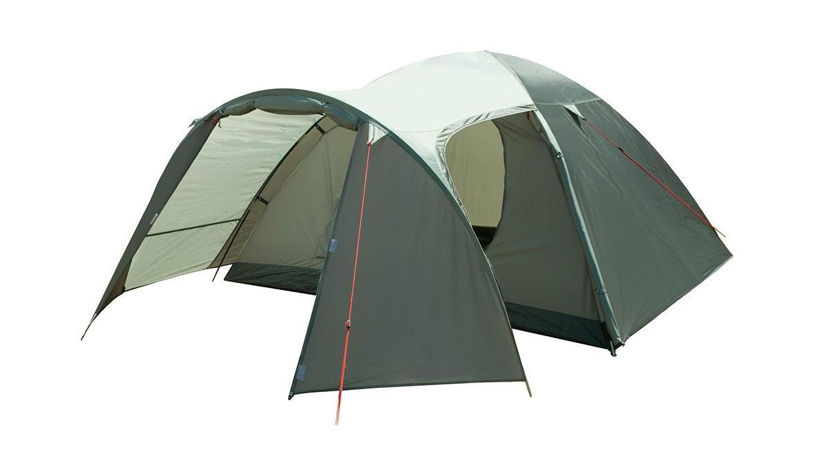 Палатка четырехместная TREK PLANET Boston Air 4, цвет: оливковый70186Четырехместная палатка Trek Planet Boston Air 4 с отличной вентиляцией, большим тамбуром и двумя входами во внутреннюю палатку отлично подходит для длительного путешествия.Особенности модели:Простая и быстрая установка.Тент палатки из полиэстера, с пропиткой PU водостойкостью 3000 мм, надежно защищает от дождя, все швы проклеены.Просторный тамбур с двумя входами.Каркас из жестких, прочных и легких композитных дуг (Durapol).Дно палатки из прочного полиэстера Oxford водостойкостью 6000 мм.Боковая дверь тамбура закрывается молнией, спрятанной под внешним тентом, что препятствует попаданию влаги через молнию во время дождя.Внутренняя палатка из дышащего полиэстера, обеспечивает вентиляцию помещения и позволяет конденсату испаряться, не проникая внутрь палатки.Два входа во внутреннюю палатку с противоположных сторон тента.Удобная D-образная дверь с москитной сеткой в полный размер двери на каждом входе во внутреннюю палатку.Вентиляционное окно.Внутренние карманы для мелочей.Возможность подвески фонаря в палатке.Для удобства транспортировки и хранения предусмотрен современный компрессионный чехол с ручкой.Trek Planet - проверенный туристический бренд по производству товаров для туристов, охотников и рыболовов: палатки для активного отдыха, спальники, рюкзаки, туристические коврики и аксессуары. Trek Planet использует лучшие износостойкие материалы и последние технологические разработки.Размер: 240 см х (210+130) см х 130 см.Размер внутренней палатки: 240 см х 210 см х 130 см.Размер палатки (в собранном виде): 19,5 см х 62 см.