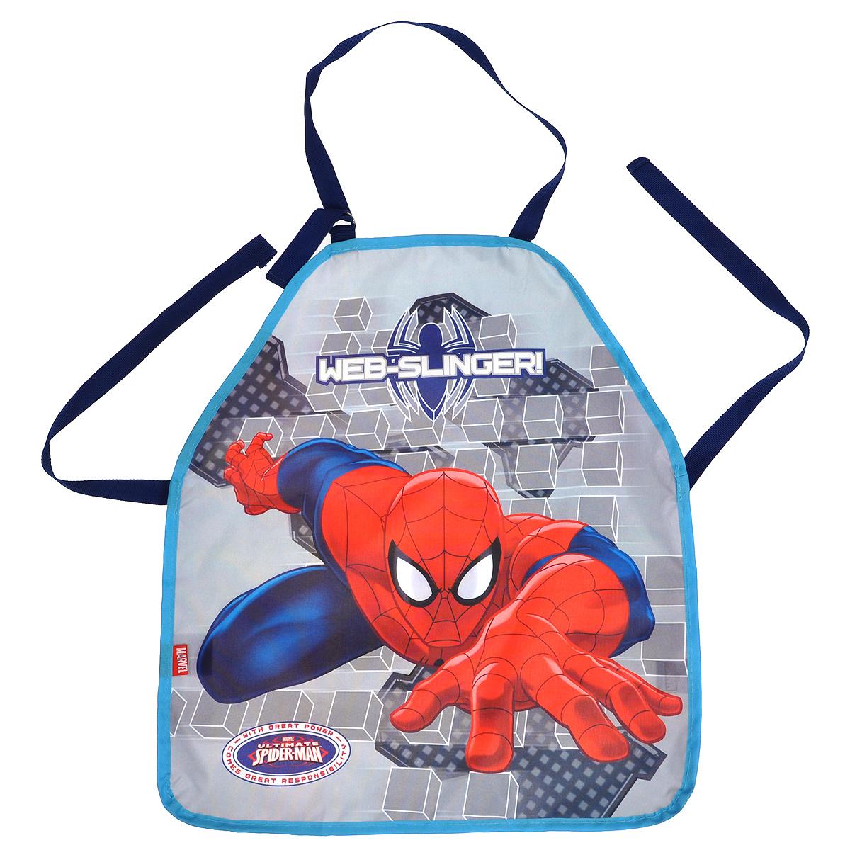 Фартук Размер 51 х 44 см. Spider-man Classic. Размер упаковки: 27 х 16,5 х 0,5 см.7211-19Детский фартук – очень полезный аксессуар для занятий творчеством в детском садуи уроков труда в начальнойшколе. Практичные и красочные, они порадуют своих юных хозяев и их родителей. Цвет: серый. Поверхность: . Упаковка: Пакет.
