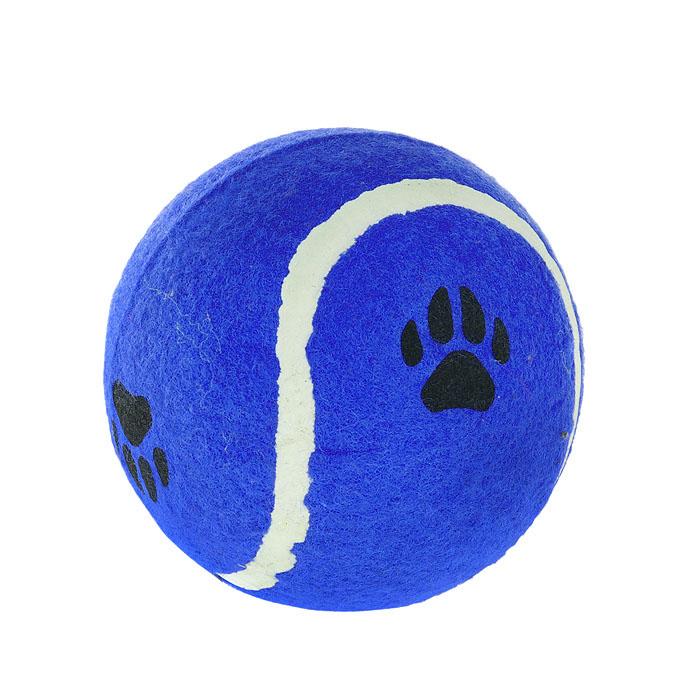 Игрушка для собак I.P.T.S. Мячик теннисный с отпечатками лап, цвет: синий, диаметр 10 см0120710Игрушка для собак I.P.T.S. Мячик теннисный с отпечатками лап изготовлена из прочной цветной резины с ворсистой поверхностью в виде реального теннисного мяча с отпечатками лап. Предназначена для игр с собакой любого возраста. Такая игрушка привлечет внимание вашего любимца и не оставит его равнодушным. Диаметр: 10 см.