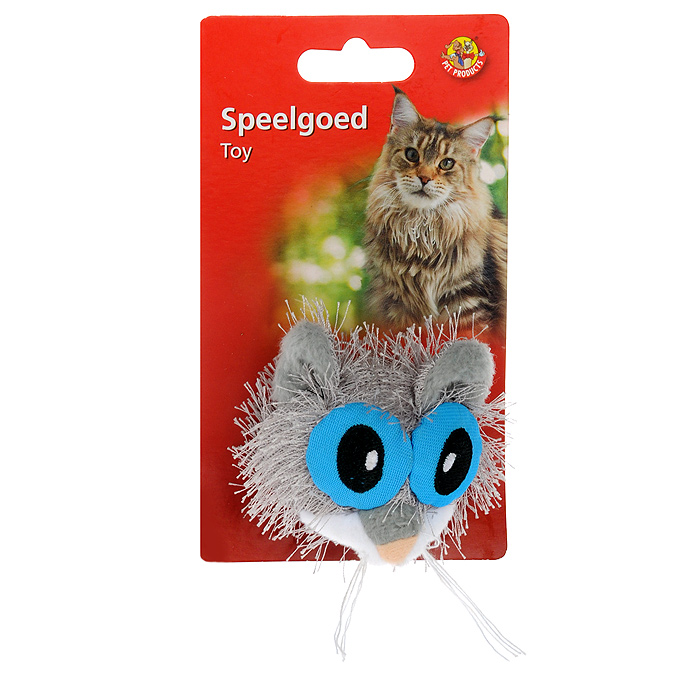 Игрушка для кошек I.P.T.S. Кошка с большими глазами39779Забавная игрушка для кошек I.P.T.S. Кошка с большими глазами развлечет не только кошку, но и развеселит хозяина. Игрушка изготовлена из мягкого плюша. Предназначена для активных игр с кошкой.
