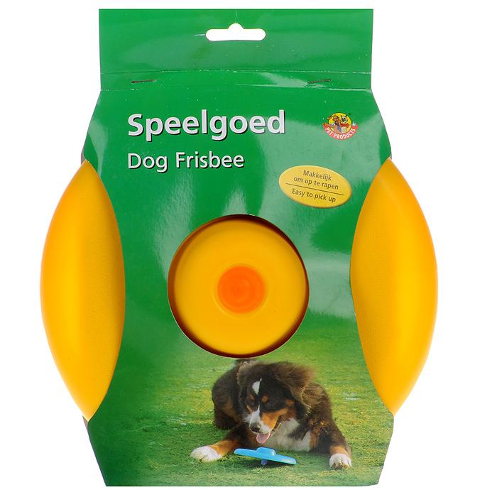 Игрушка для собак I.P.T.S. Фрисби, цвет: желтый, диаметр 22 см0120710Игрушка I.P.T.S. Фрисби, выполненная из пластика, отлично подойдет для совместных игр хозяина и собаки. Игрушка не повреждает десны питомца. Совместные игры укрепляют взаимоотношение и понимание. Давая новую игрушку вашему питомцу, не оставляйте животное без присмотра, не убедившись, что собака не может разгрызть данную игрушку. Диаметр: 22 см.