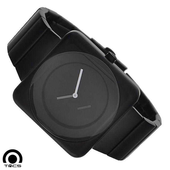 Часы наручные Tacs Soap-M-A, цвет: черный. TS1003ABM8434-58AEОригинальные кварцевые наручные часы Tacs Soap-M-A созданы для людей, ценящих качество, практичность и индивидуальность в каждой детали. Часы выполнены в строгом минималистическом стиле. Глубокий черный цвет позволяет сочетать часы с любыми предметами гардероба. Часы оснащены японским кварцевым механизмом MIYOTA 1L45. Корпус часов квадратной формы выполнен из нержавеющей стали с PVD-покрытием черного цвета. Корпус водонепроницаемый, что позволяет заниматься плаванием в часах. Круглый циферблат оформлен в строгом лаконичном стиле: имеется три белых стрелки и 4 основных метки. Циферблат защищен прочным минеральным стеклом, устойчивым к царапинам и повреждениям. Браслет часов, также выполненный из нержавеющей стали черного цвета, долговечен и очень практичен в использовании. Застегивается на застежку-бабочку. Широкие звенья браслета делают часы элегантными и придают солидный внешний вид.Часы Tacs покорят вас привлекательными формами и лаконичным дизайном, а высокое качество и практичность позволят использовать их долгие годы.Характеристики: Материал корпуса: нержавеющая сталь. Материал браслета: нержавеющая сталь. Механизм: кварцевый MIYOTA 1L45 (Япония). Цвет браслета: черный. Диаметр циферблата: 3,5 см. Размер корпуса: 3,9 см х 3,9 см. Толщина корпуса: 1,2 см. Диаметр браслета (с корпусом): 7 см. Ширина браслета: 2,2 см. Водонепроницаемость: 5 Atm. Часы Tacs - это высококачественная продукция, соответствующая образу жизни героясовременного мегаполиса. В дизайн каждой модели часов органично вплетены узнаваемыеэлементы окружающих нас предметов, которые можно увидеть, к которым можно прикоснуться,которые мы любим - будь то форма ароматного мыла, узнаваемый абрис ретро радио илитекстурное ощущение пленочной фотокамеры.